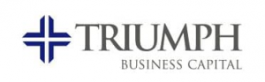 Logo for triumph business capital