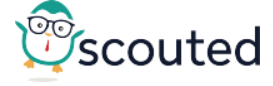 Scouted logo