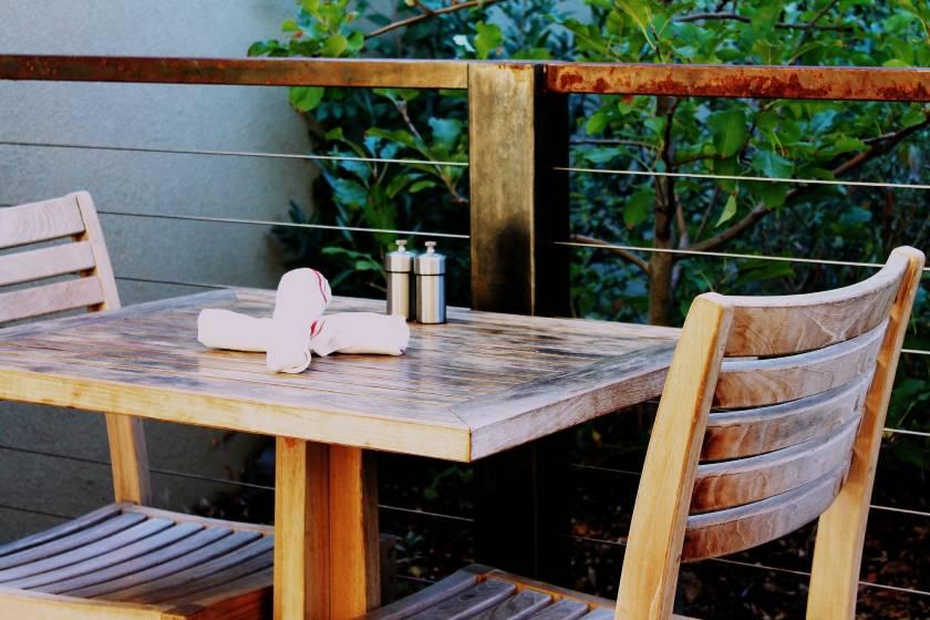 Casual restaurants table