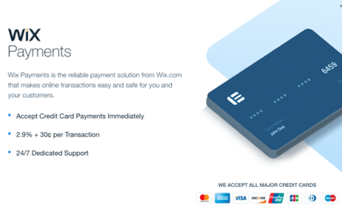 Wix Payment Processing