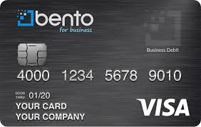 Bento for business prepaid credit card