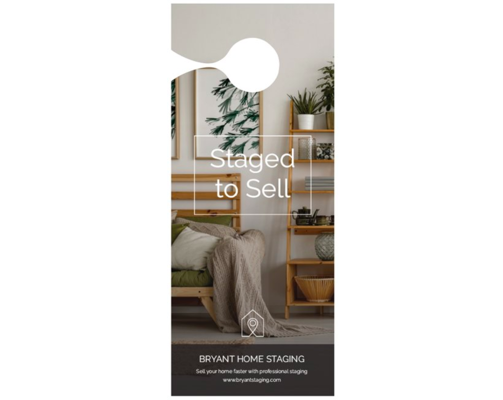 Vistaprint - Home Staging Door Hanger