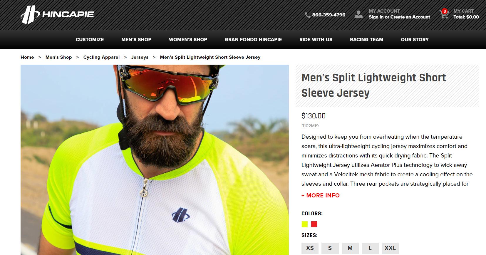 Bearded man with sunglass wearing Sleeve Jersey