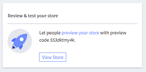 Review and test your store option