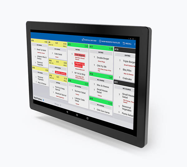 Toast restaurant-specific POS systems kitchen display interface
