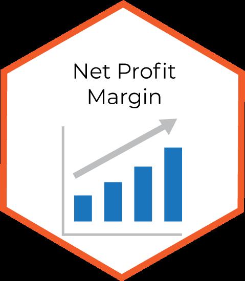 Net Profit Margin infographic