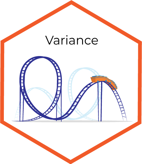 Variance infographic