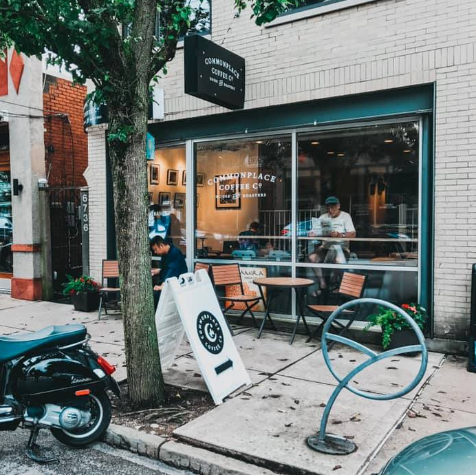 outside photo of Commonplace Coffee