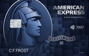 American Express Blue Cash Preferred Card image