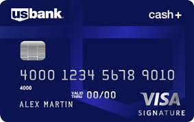 Image of U.S. Bank Cash Plus Visa Signature credit card