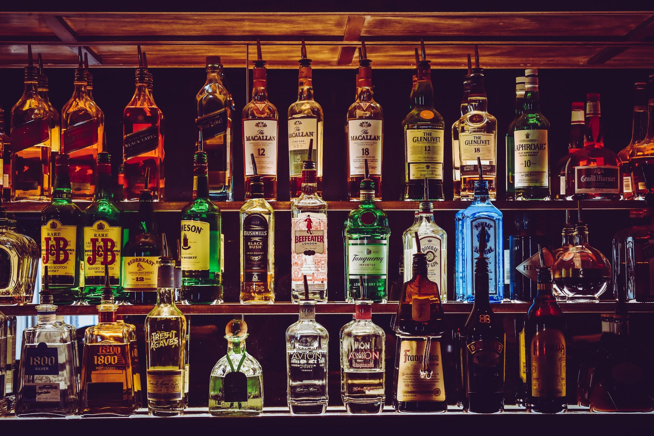Layers of Liquors