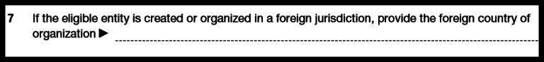 Form 8832: Foreign Entities