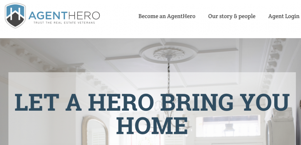 Agent Hero Realty page