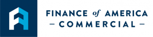 Finance of America Commercial Logo