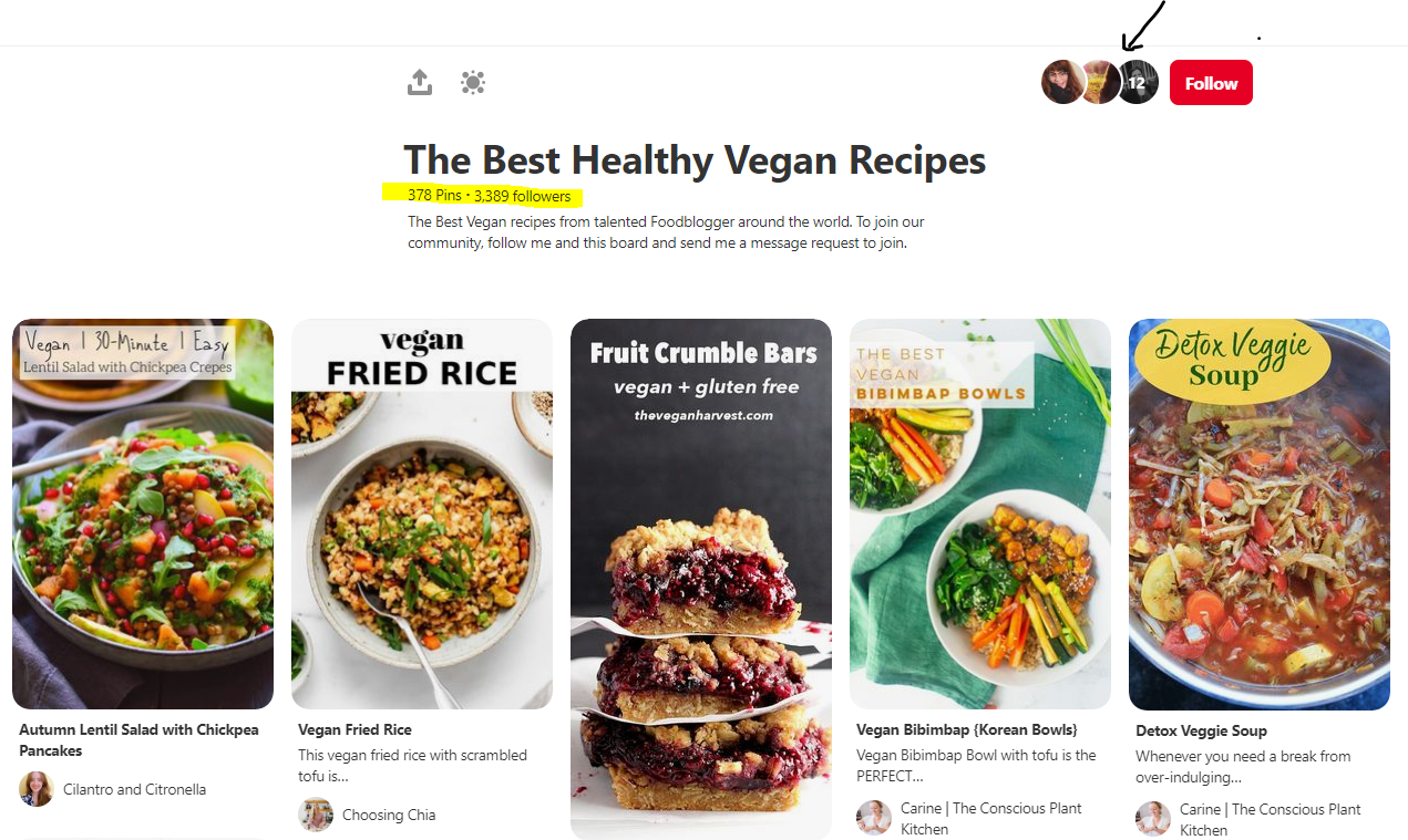 The Best Healthy Vegan Recipes in Pinterest