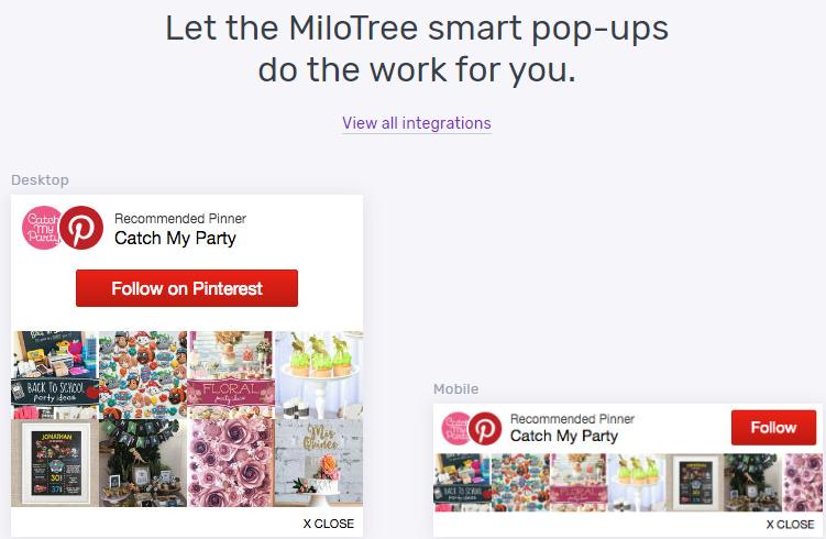 MiloTree feature
