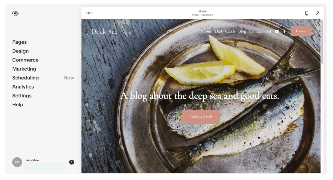 Customize a Squarespace Blog Template