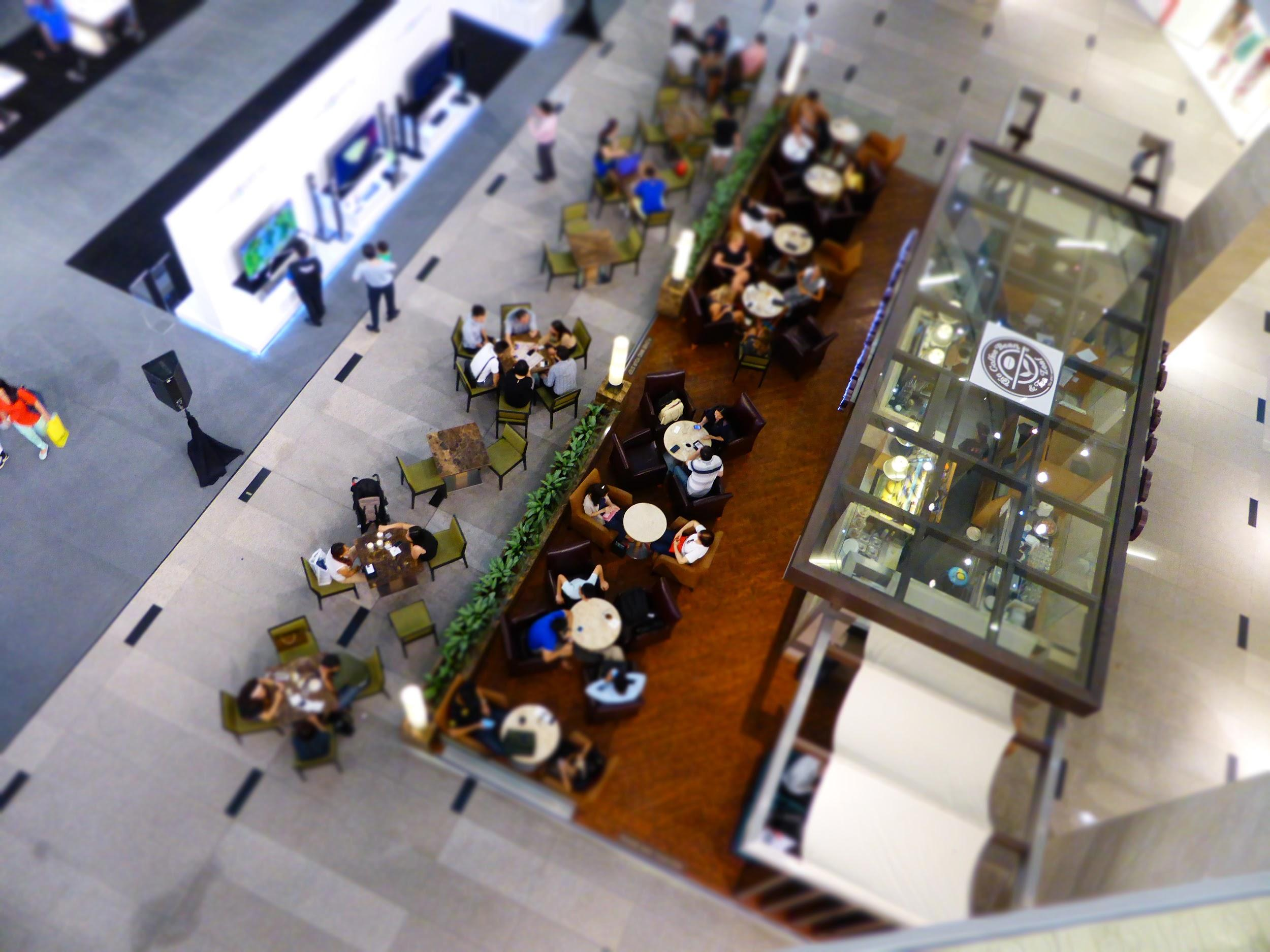 Coffee shops in malls