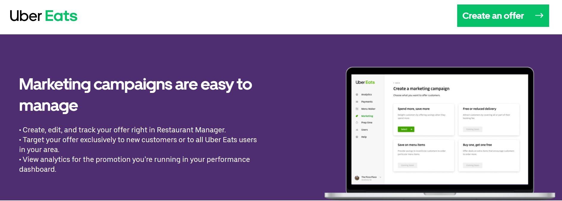 Restaurant Manager portal