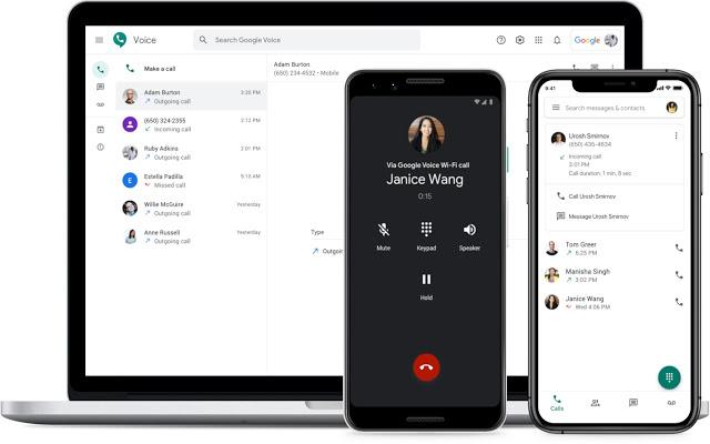 Google Voice desktop app