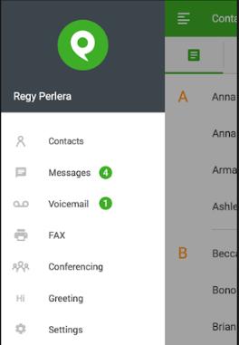 Phone.com softphone services