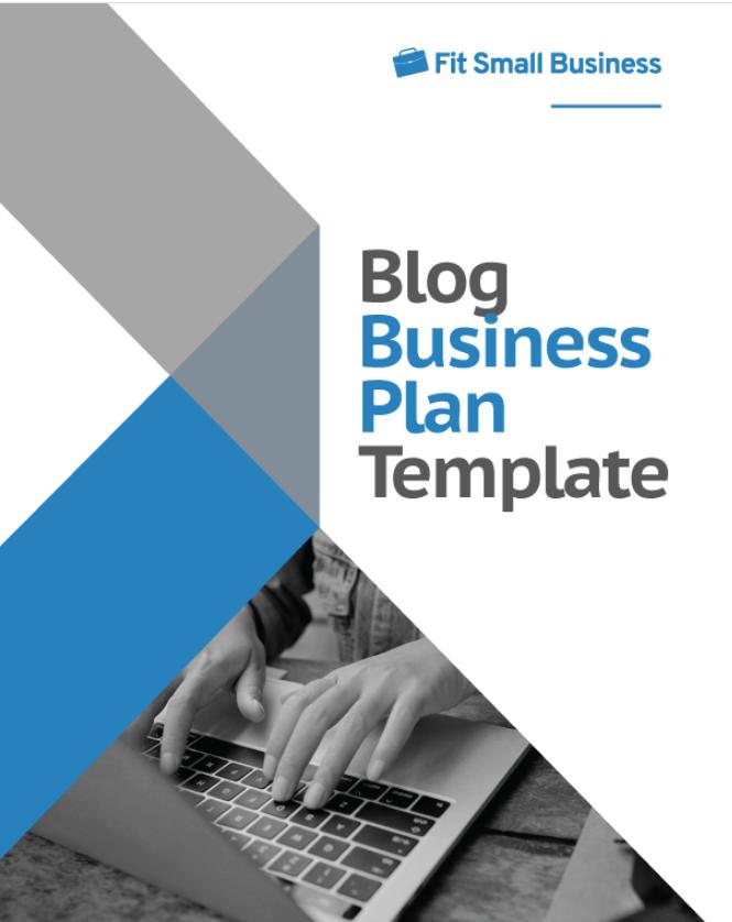 Blog Business Plan Template