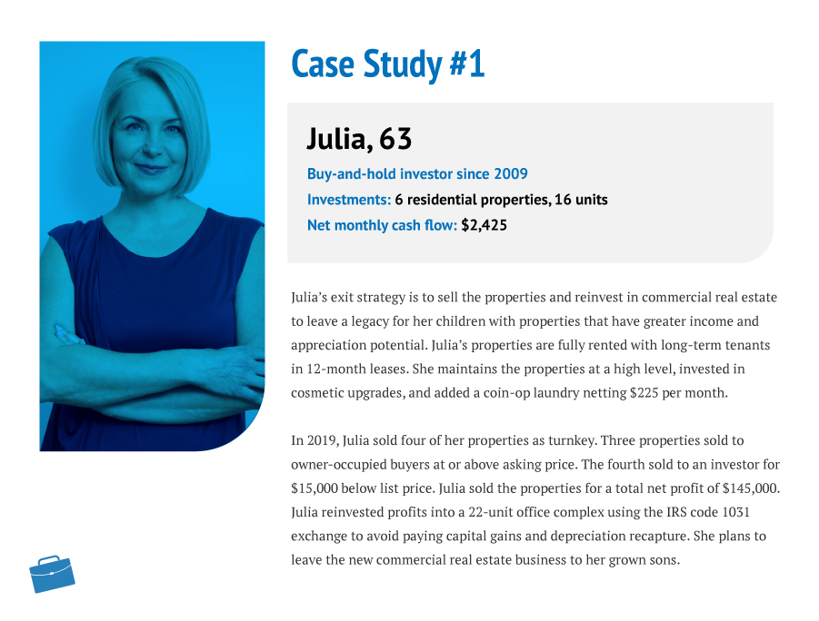 Julia, 63, Buy-and-hold Investor