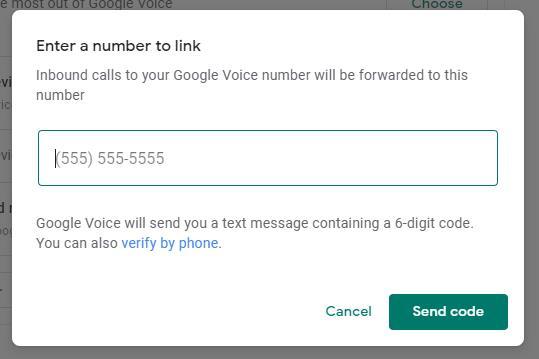 Google voice six digit verification