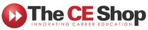 The CE Shop logo