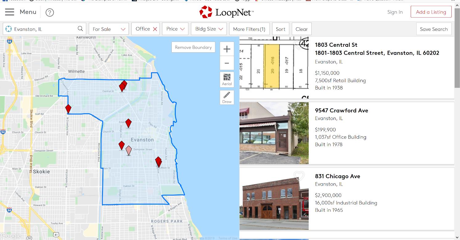 Sample Loopnet.com listings