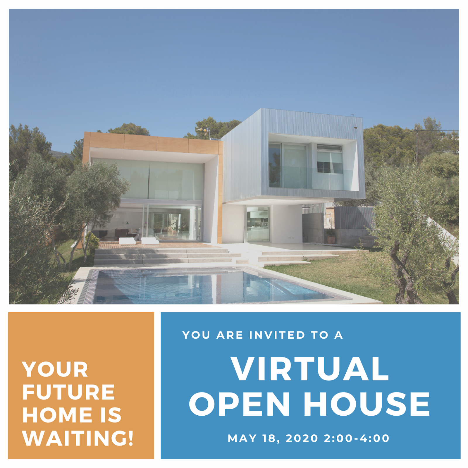 Virtual Open House Signs