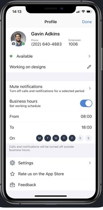 8x8 Voip iphone App