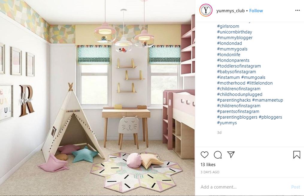 instagram blog post from yummys_club