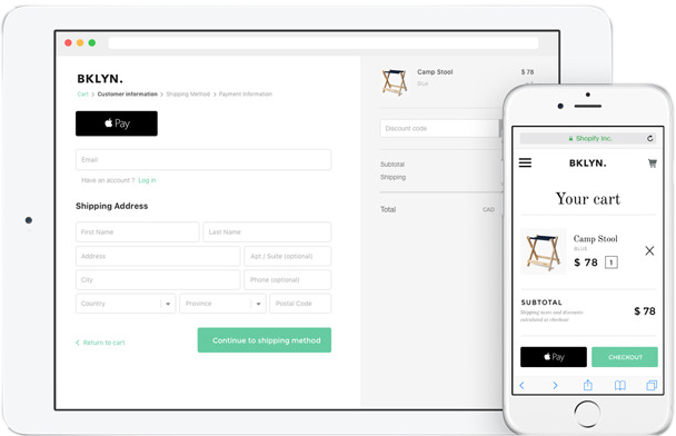 Shopify's Integrating payment processing in both mobile and table