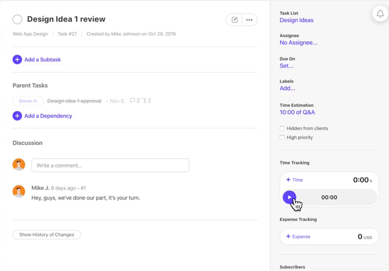 ActiveCollab Features