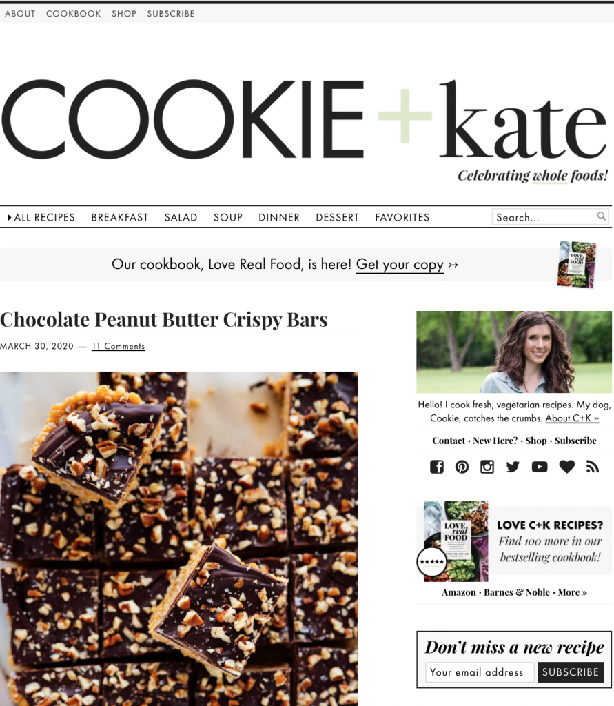 Cookie and Kate recipes
