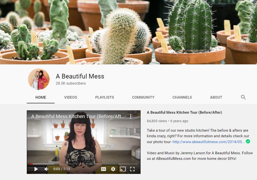 A Beautiful Mess lifestyle blog
