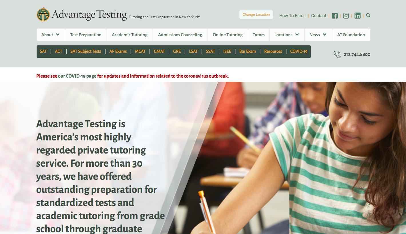 Advantage Testing - slider1