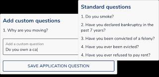 Tenant's Questionnaire