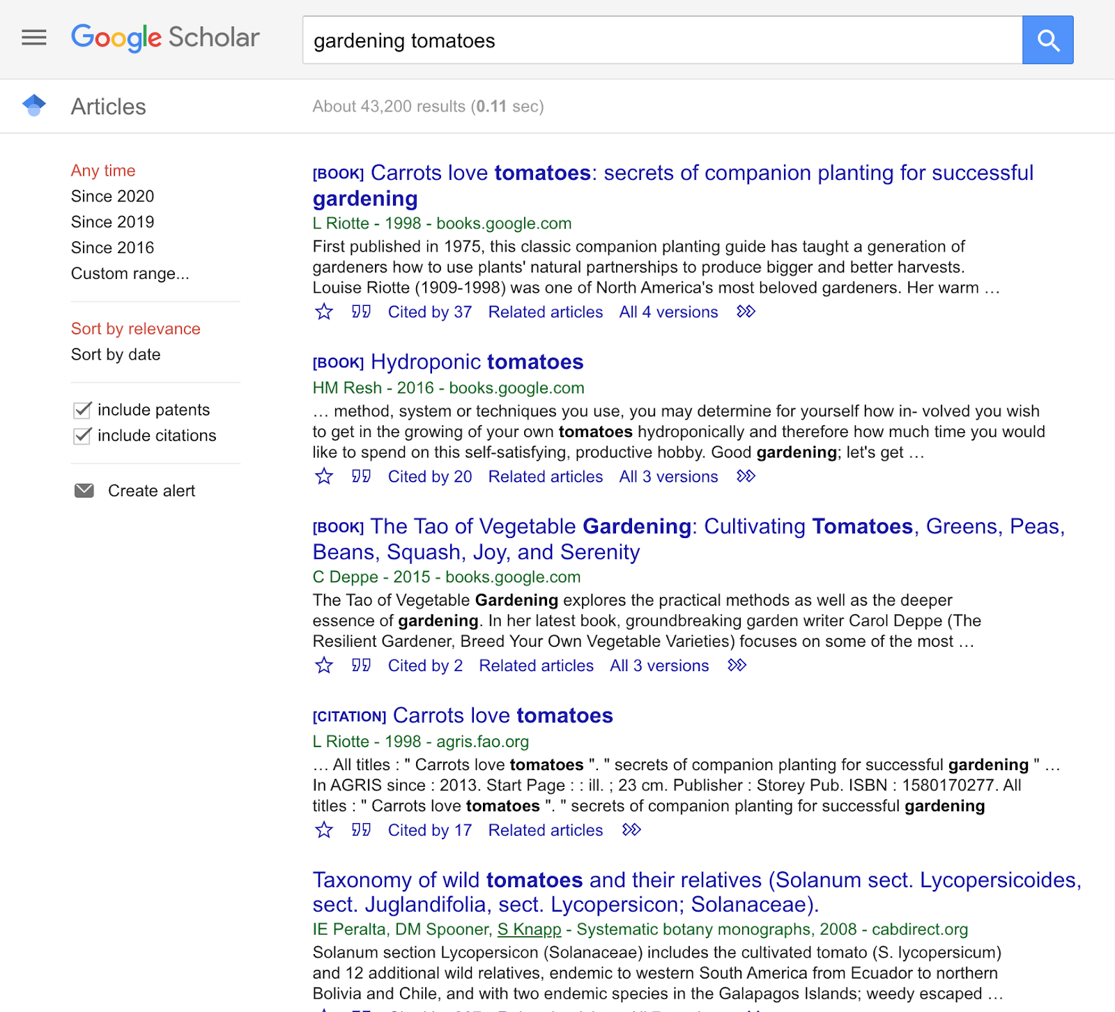 Google Scholar is a free search engine tool