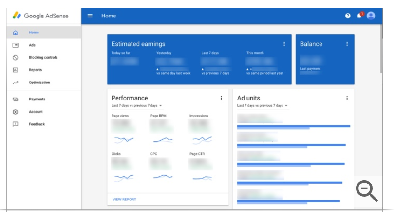 Google track earnings ad performance