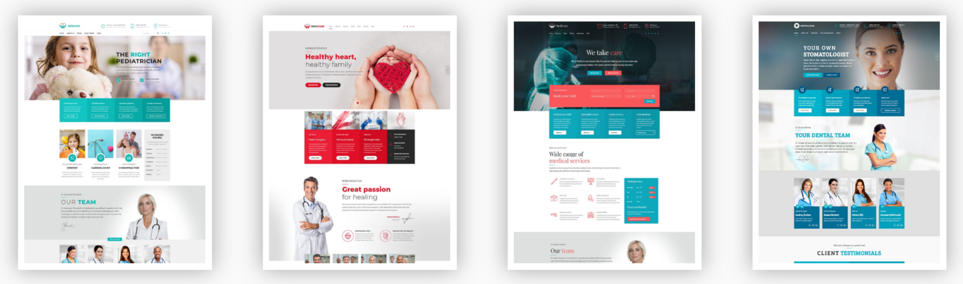 Medicare WordPress theme demos