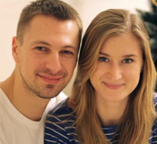 Natia Khania and Andrei Salokhin