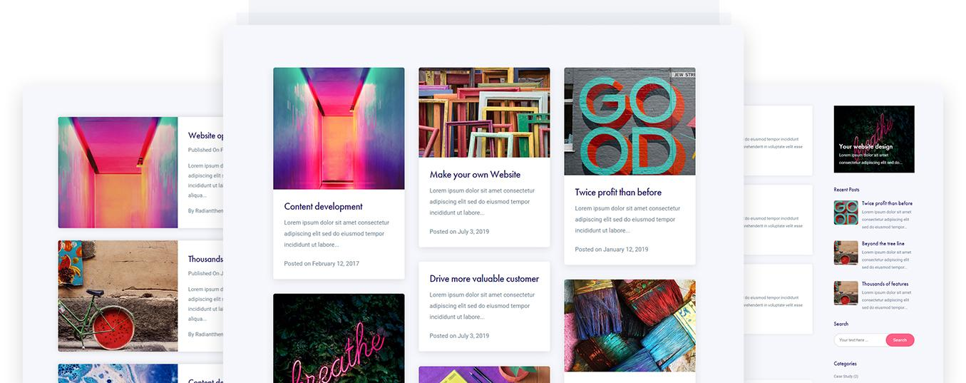 RYSE WordPress theme page detail