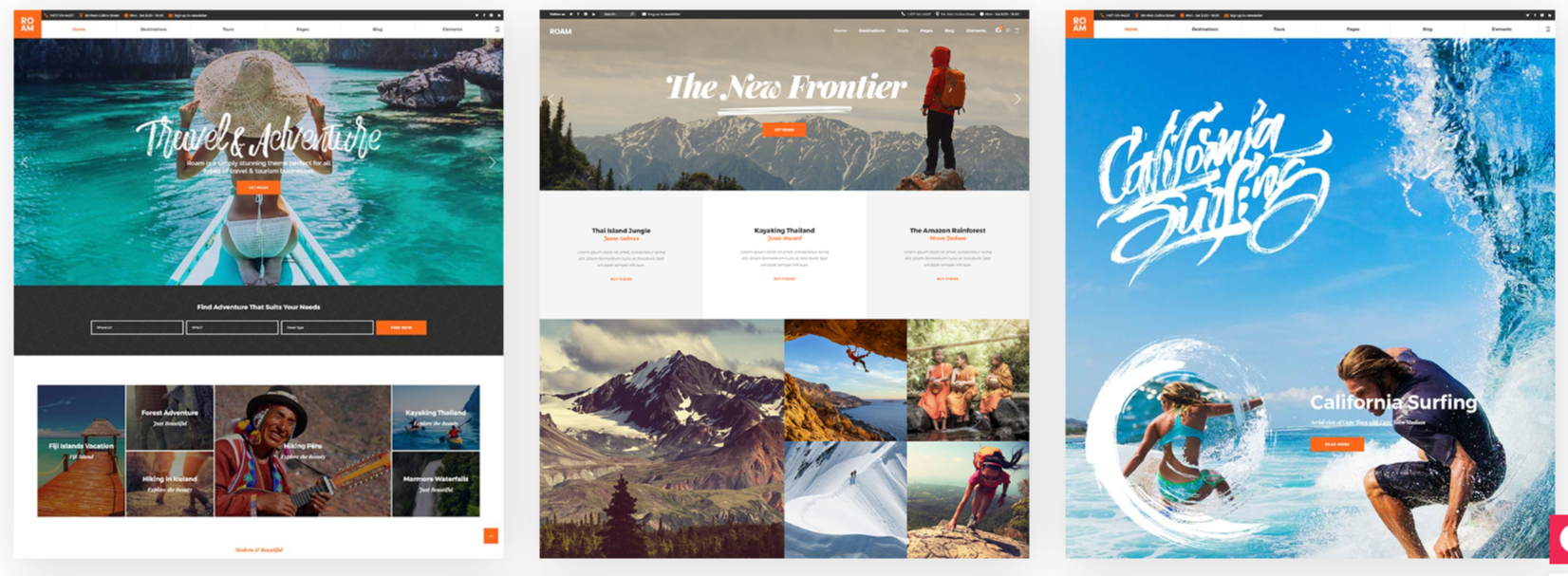 Roam Homepage Layouts Demos