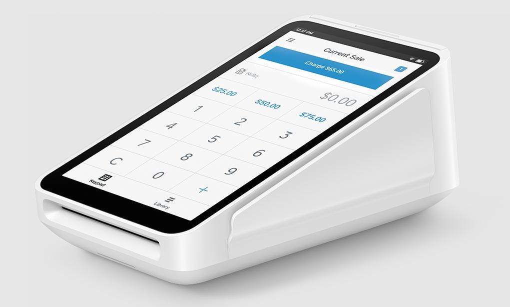 Square credit card reader