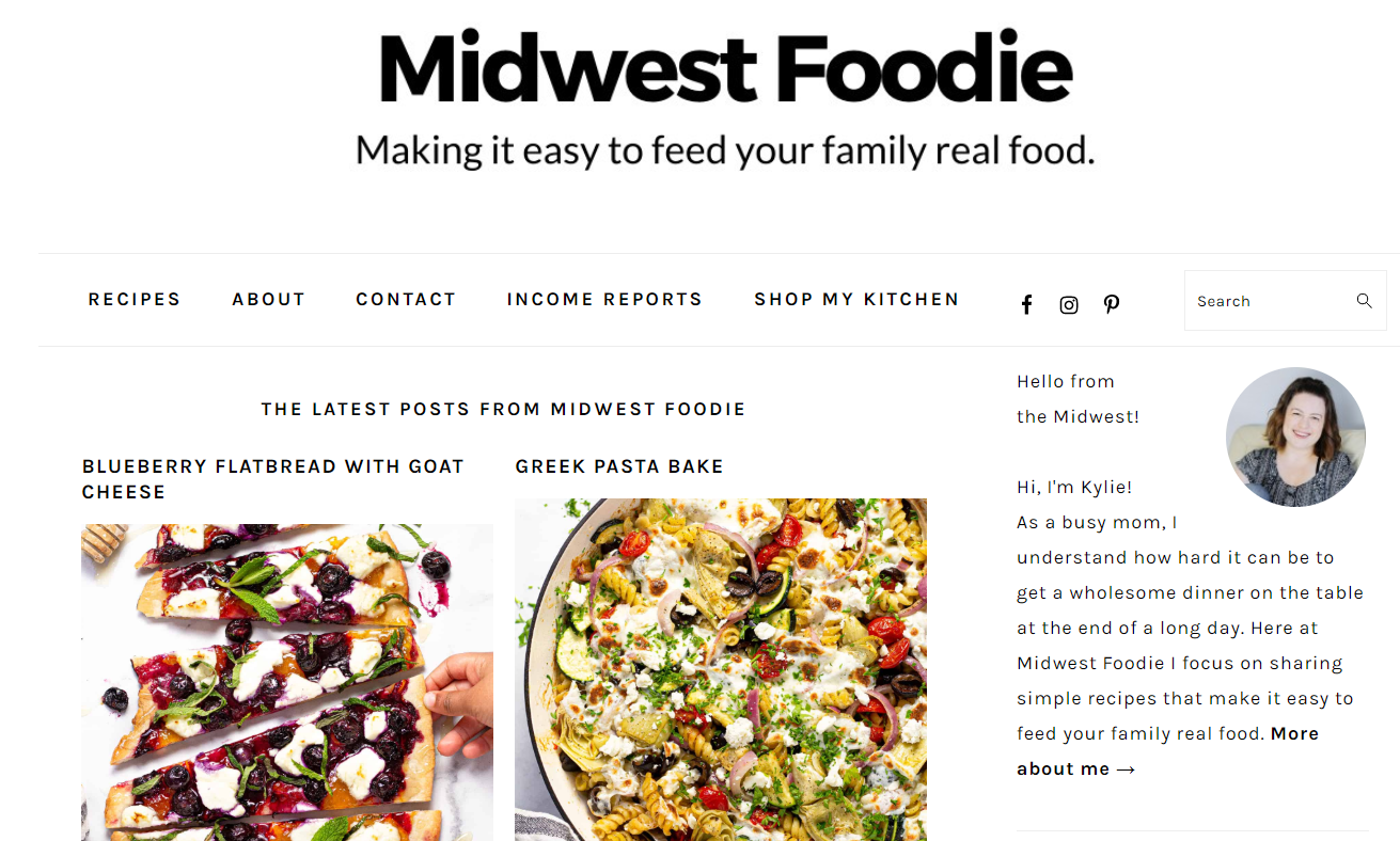 midwest foodie interface