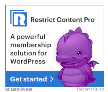 restrict content pro ad