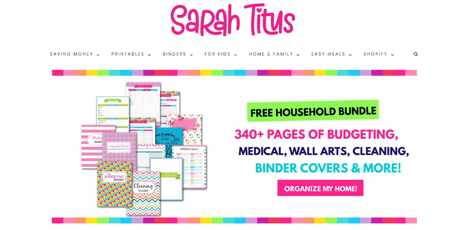 sarah titus interface