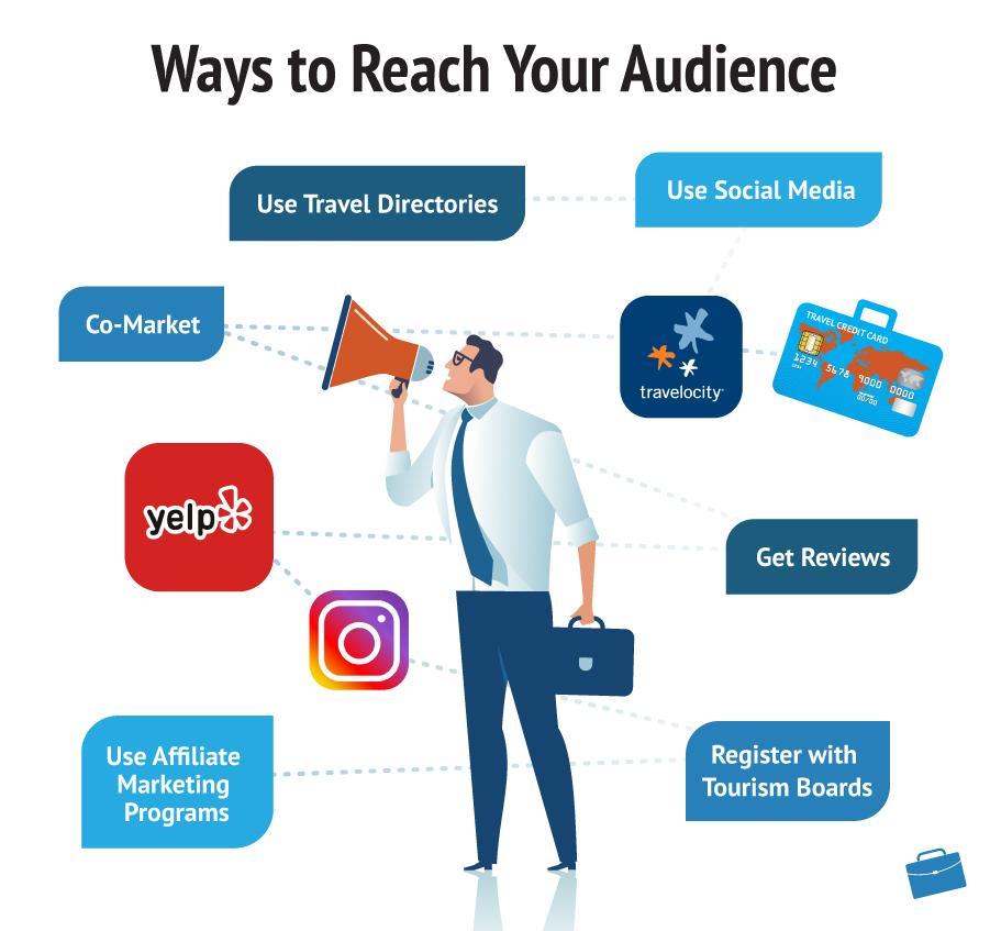 Ways to Reach Audience